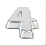 Number 4 Alloy Cake Pan 280mm High - Mondo