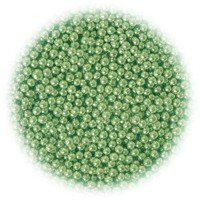 4mm METALLIC GREEN Cachous 1kg by Amarischia