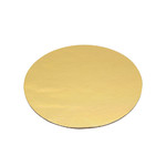 Slice Board 100mm Gold Round 1.5mm Thick (100)