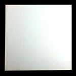 4mm MDF Board White Square 17""
