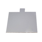Tab Slice Board 100mm Square SILVER (50)