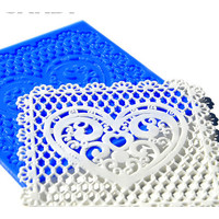Crystal Candy The Cake Art Mini Collection Lace Mat  Silvanna
