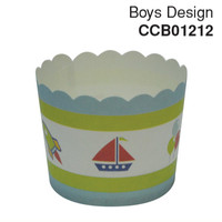 Cupcake Case Boys Design Carton 600pc