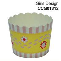 Cupcake Case Girls Design Carton 600pc
