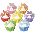 CDA Edible Small Vivid Butterflies (42)