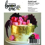 Edible Gold Leaf 23K Transfer sheets (25)