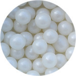 Cachous 12mm Pearl White 200g