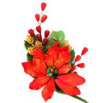 Poinsettia Spray (Box 10pcs)