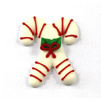 Double Candy Canes 40mm (Box 96)