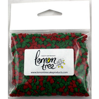 Confetti Shapes  Red/Green Trees Hangsell 50g