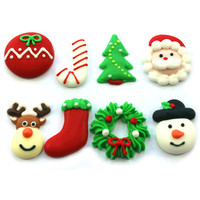 Assorted Christmas Decoration 25mm (Box 128)