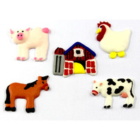 Farm Animal Assortment (180)