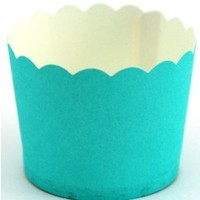Cupcake Case  Plain Blue  Carton 600