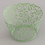 C/C Wrapper Pearl Pale Green Filigree (12)