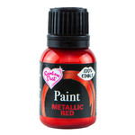 Metallic Paint Red 25ml