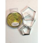 Cutter Tin Set Pentagons Set of 8