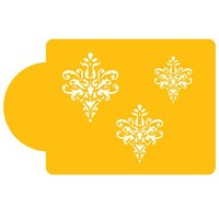 Stencil  Lace Icon Set