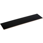 Slip Board 28x6.5cm Black Rectangle  (50)