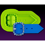 Marvelous Molds - Rectangular Bejewelled Buckle