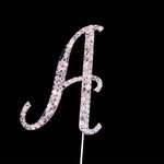 Bling Diamante 7cm Letter A