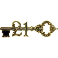 21st Antique Key 76mm Gold (EA)