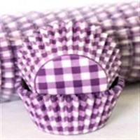 Confeta Patty Pan Purple Gingham #700 (500)