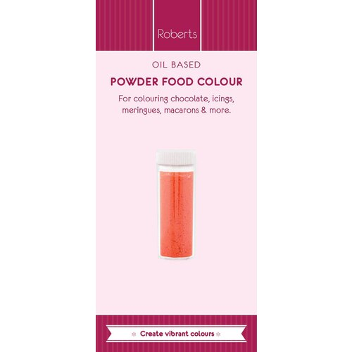 Powder Dye  Orange 1g